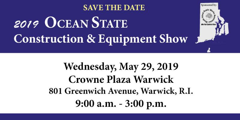 2019 Ocean State Construction and Equipment Show